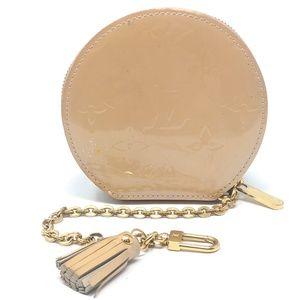 Louis Vuitton Vernis Round Coin Pouch